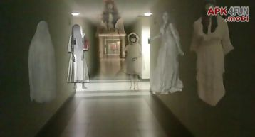 Ghost photo prank