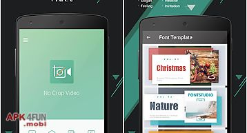 Vidtrim - video editor for Android free download from Apk