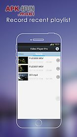 pro video player for android