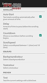 Simple teleprompter for Android free download from Apk 4Free