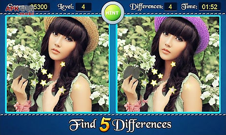find five differences