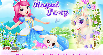 Princess palace: royal pony