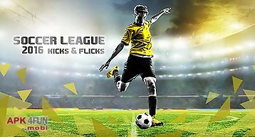 Soccer league 2016: kicks and fl..
