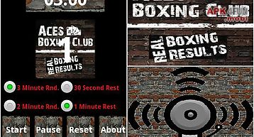 Aces boxing club round timer