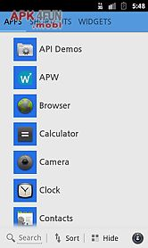 w-8 theme for squarehome