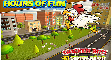 Chicken run simulator 3d
