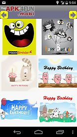 happy birthday card and gif